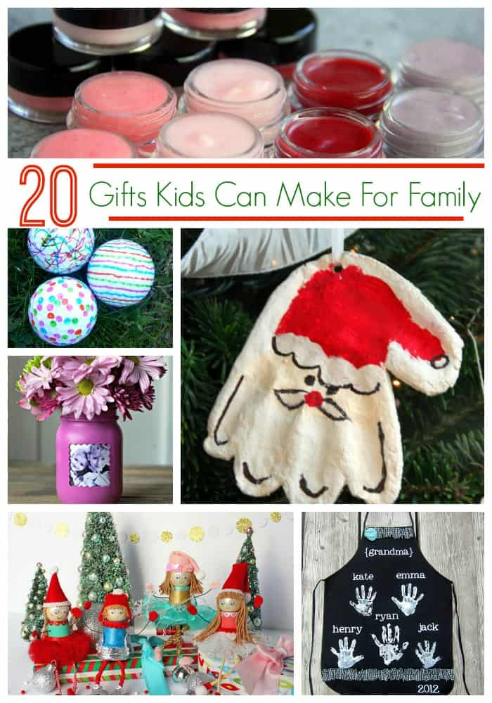 Homemade Christmas Gifts For Kids.Diy Gifts Kids Can Make To Gift To Family Friends Must