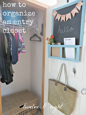 how to organize an entry closet main