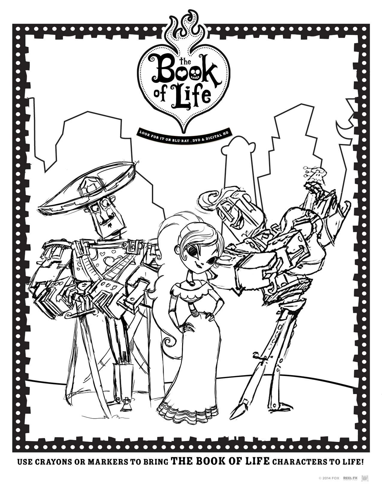 The Book Of Life Free Printables