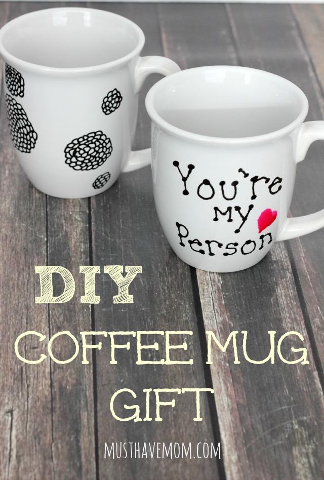 Diy Coffee Mugs For Mom Diy Coffee Mug Gift