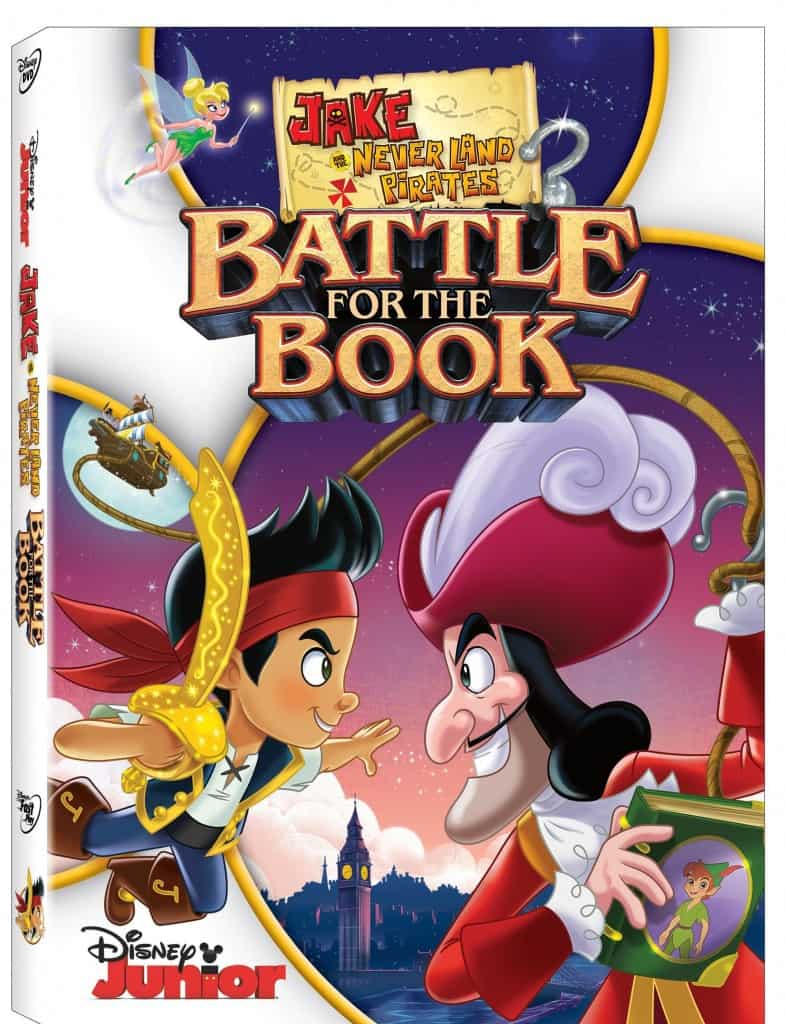 Disney Jake and the Neverland Pirates Battle For The Book DVD