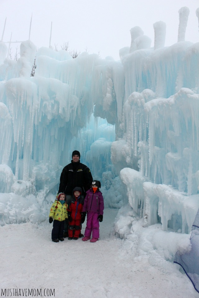 Minnesota Ice Castles Entrance