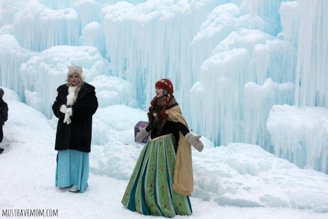 Minnesota Ice Castles Frozen Skit