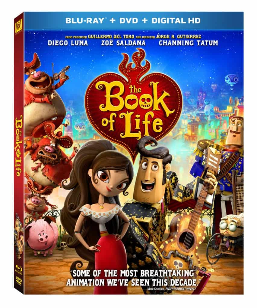 The Book of Life DVD + Giveaway
