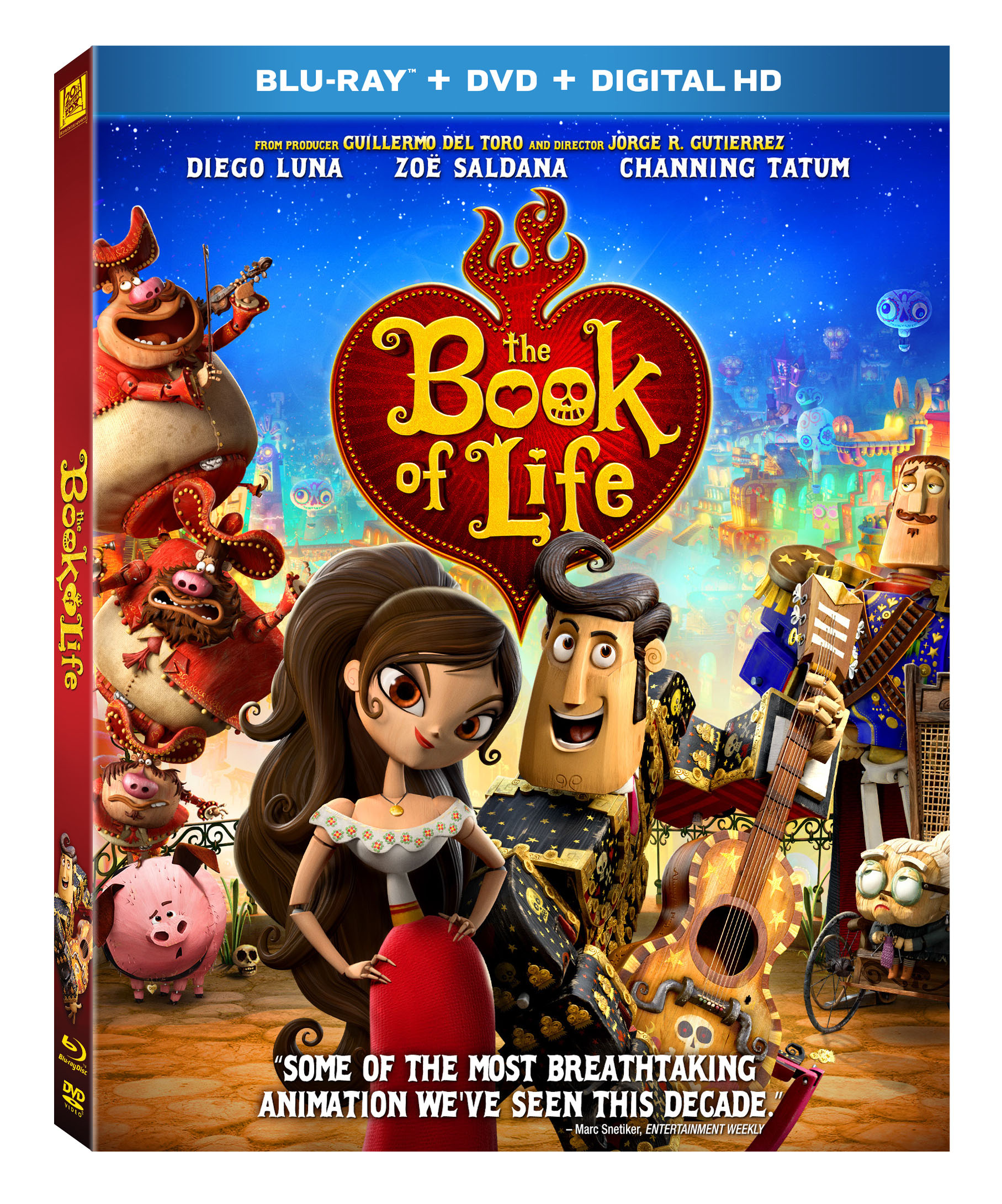 The Book Of Life DVD Giveaway