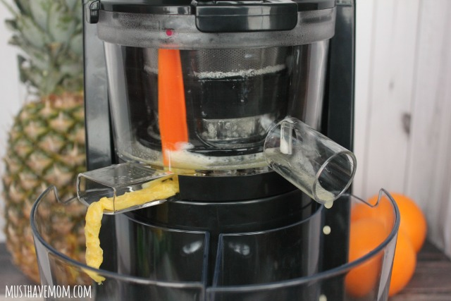 VonShef 150W Slow Masticating Single Auger Juicer Extractor