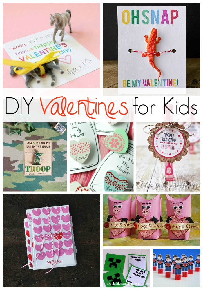 DIY Valentines for kids to make and give