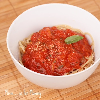 Quick Marinara Sauce for busy nights