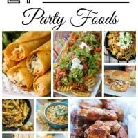 Super Bowl Party Food Recipes!
