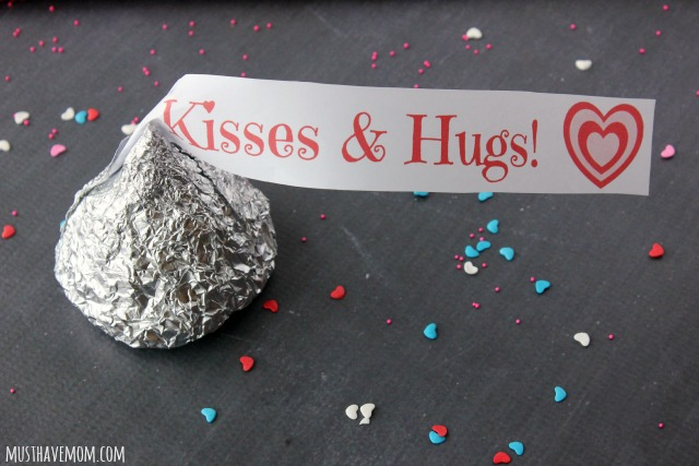 DIY Giant Hershey Kiss with free printable wrapper
