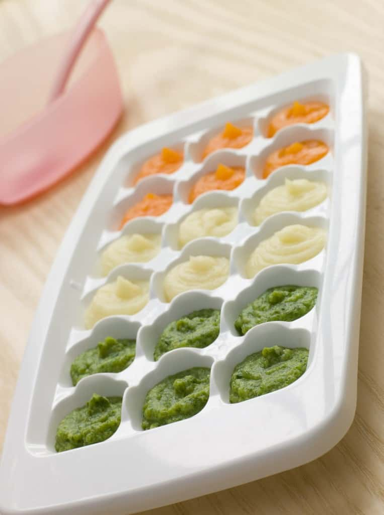 How To Freeze Homemade Baby Food