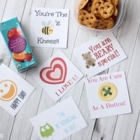 Tips For Less Hectic Mornings + FREE Printable Lunchbox Notes!