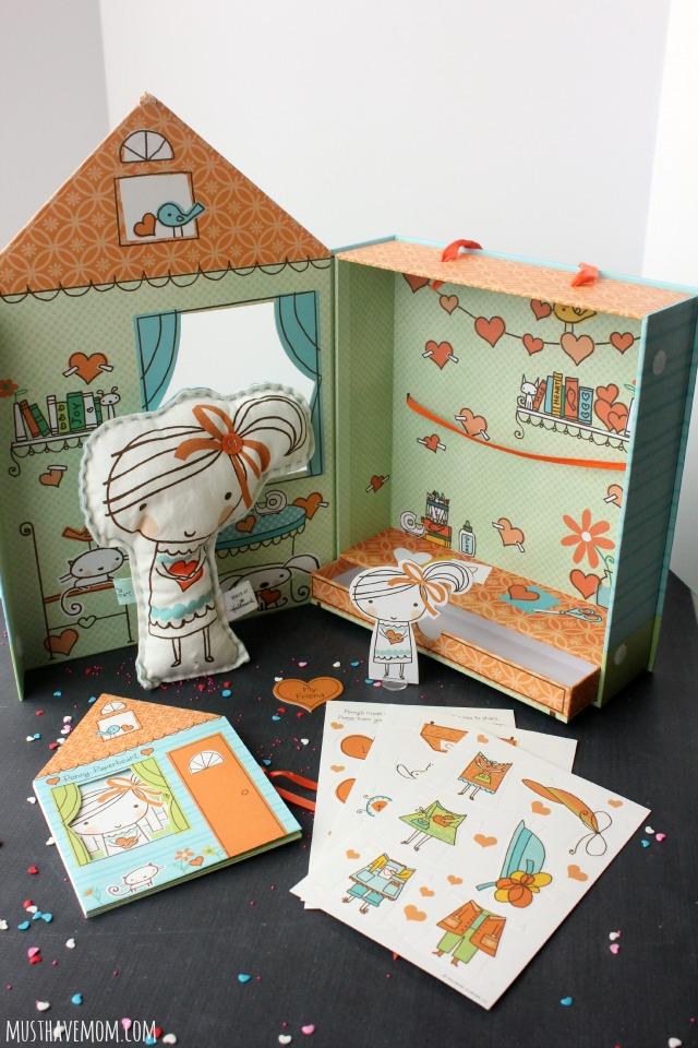 Hallmark Paper Doll Set