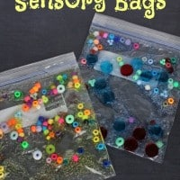 DIY Mess-Free Toddler Sensory Bags! Be Prepared For Your Next Sick Day!