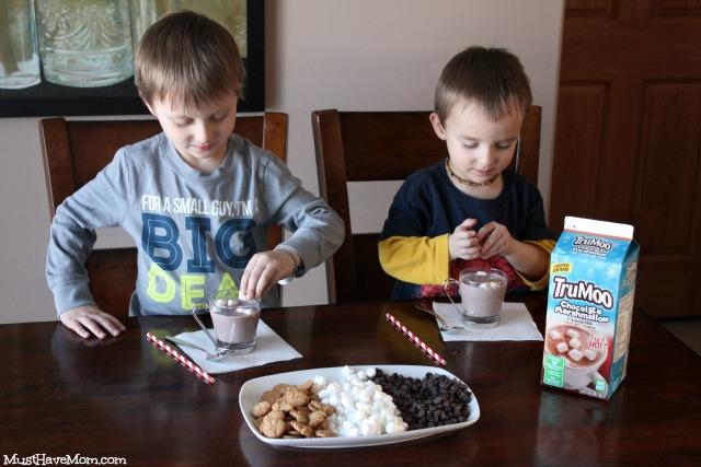 TruMoo Rocky Road Hot Chocolate Recipe