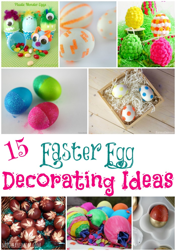 15 unconventional easter egg decorating ideas for Easter egg ideas
