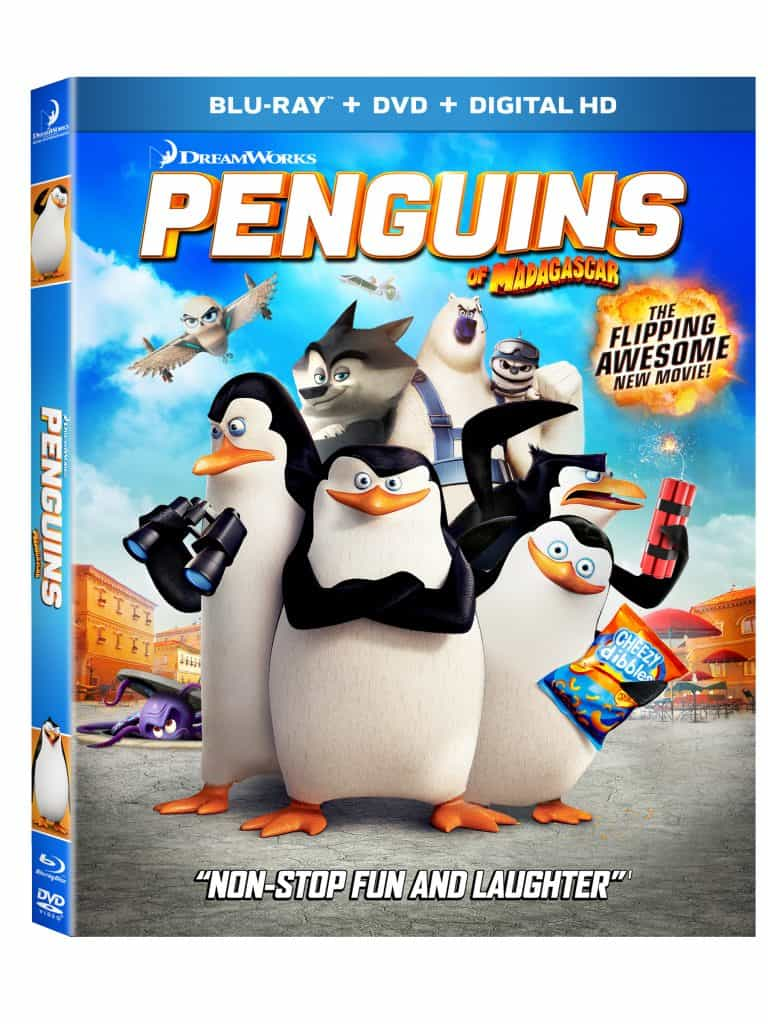Free Printable Penguins Of Madagascar Activity Sheets