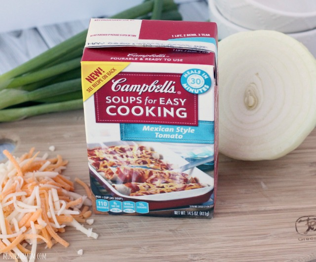 Campbell's Soups For Easy Cooking Mexican Style Tomato