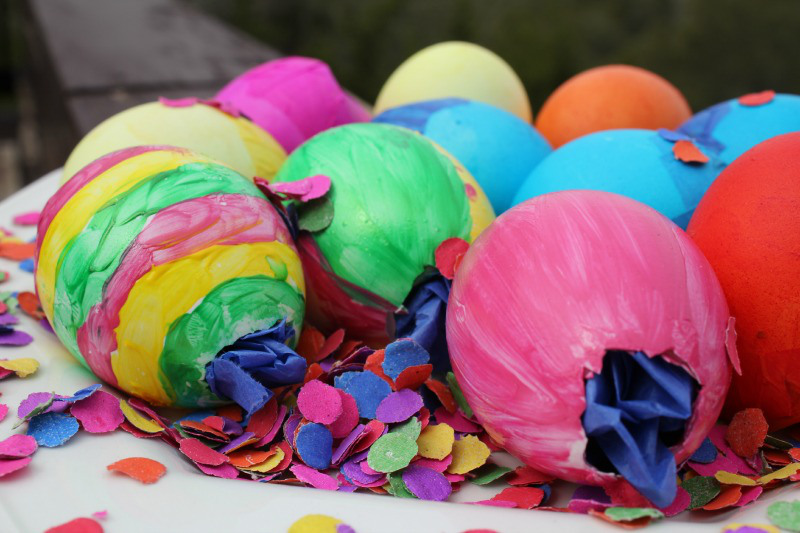 Confetti Easter Eggs DIY