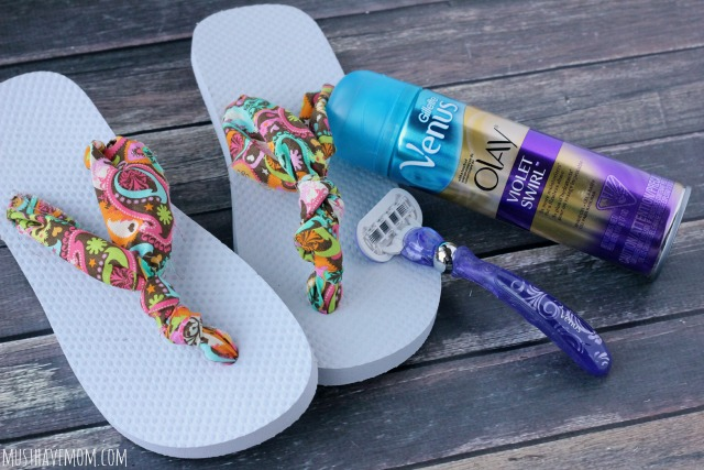 How To Make The Easiest Ever DIY No Sew Fabric Flip Flops With Step By Step Directions