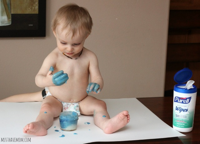 Edible Finger Paint for babies