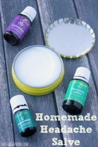 Homemade Headache Salve Recipe -Musthavemom.com