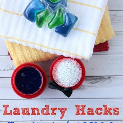 Laundry Hacks! Easy Tips To Do NOW & Spend Less Time Doing Laundry Each Week!