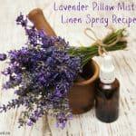 Get Better Sleep With A Proper Pillow & DIY Lavender Pillow Spray