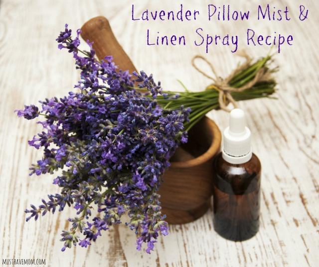 Lavender Pillow Mist & Linen Spray Recipe - Musthavemom.com