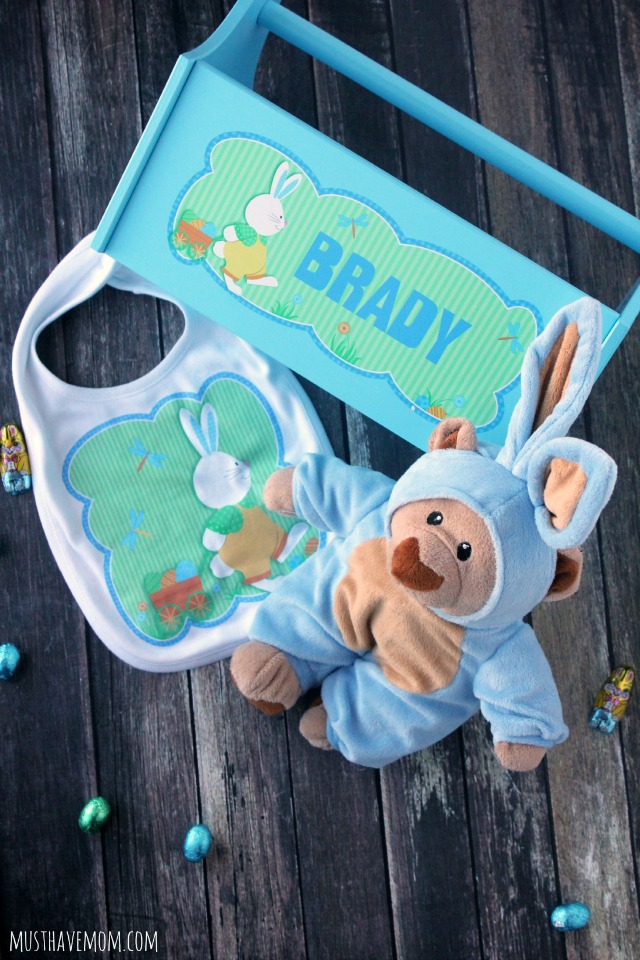 Personalized Baby Easter Caddy