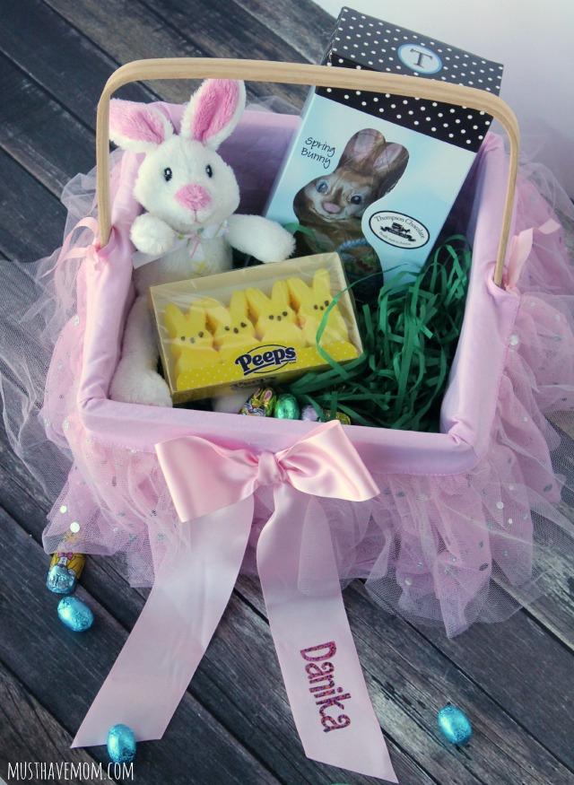 Personalized Tutu Easter Basket