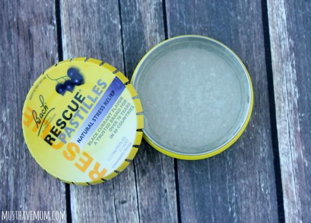 Pour headache salve into empty tin