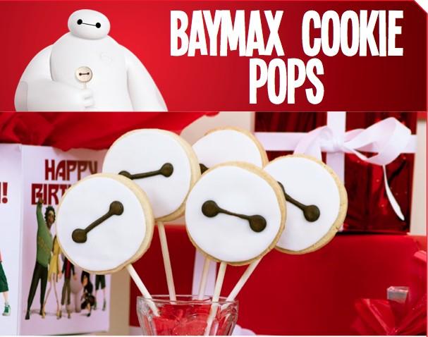 Baymax Cookie Pops Big Hero 6 Party Food
