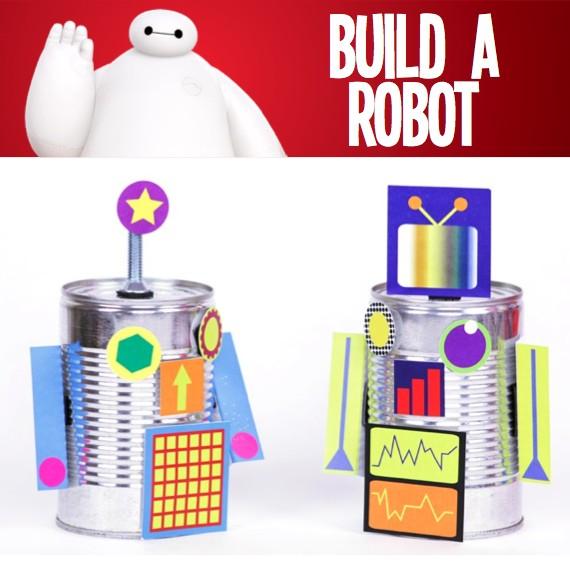 Big Hero 6 Build A Robot Party Activity