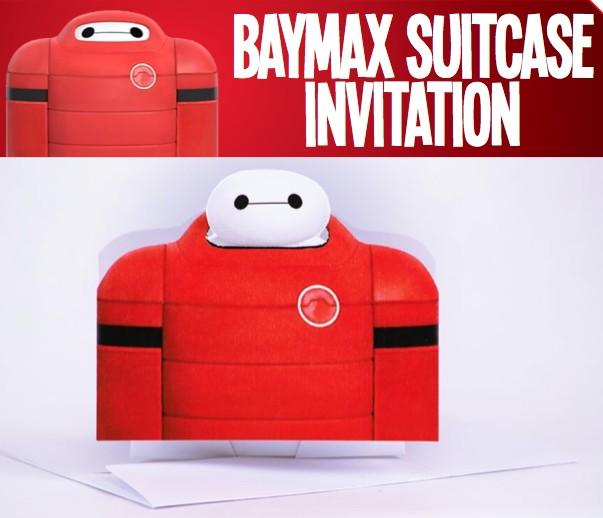 Big Hero 6 Baymax Suite Invitation Free Printable