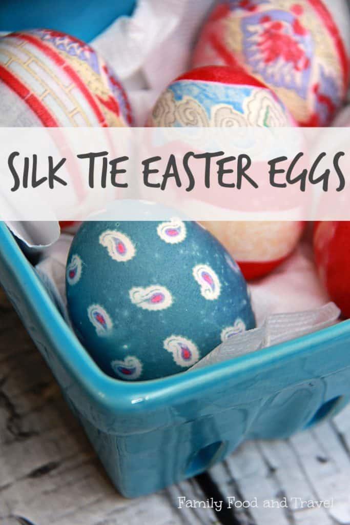 Silk Tie Easter Eggs DIY