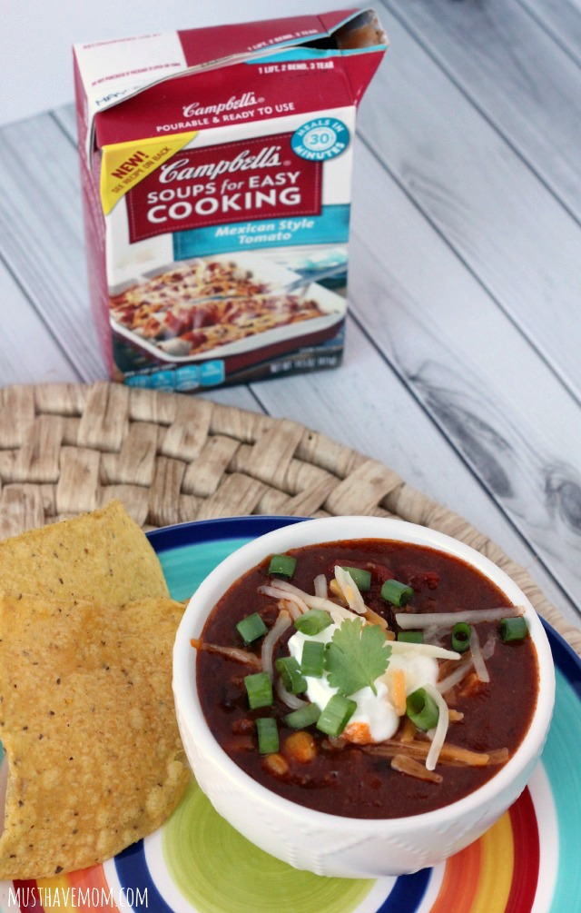 Weeknight Taco Soup Recipe ready in 30 minutes!