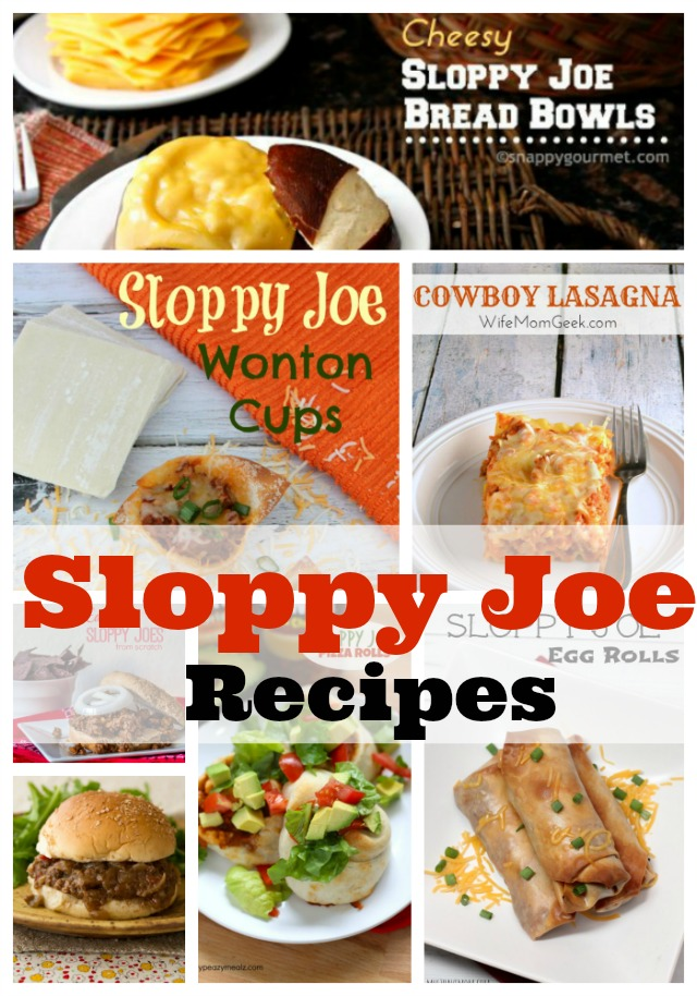 sloppyjoerecipes