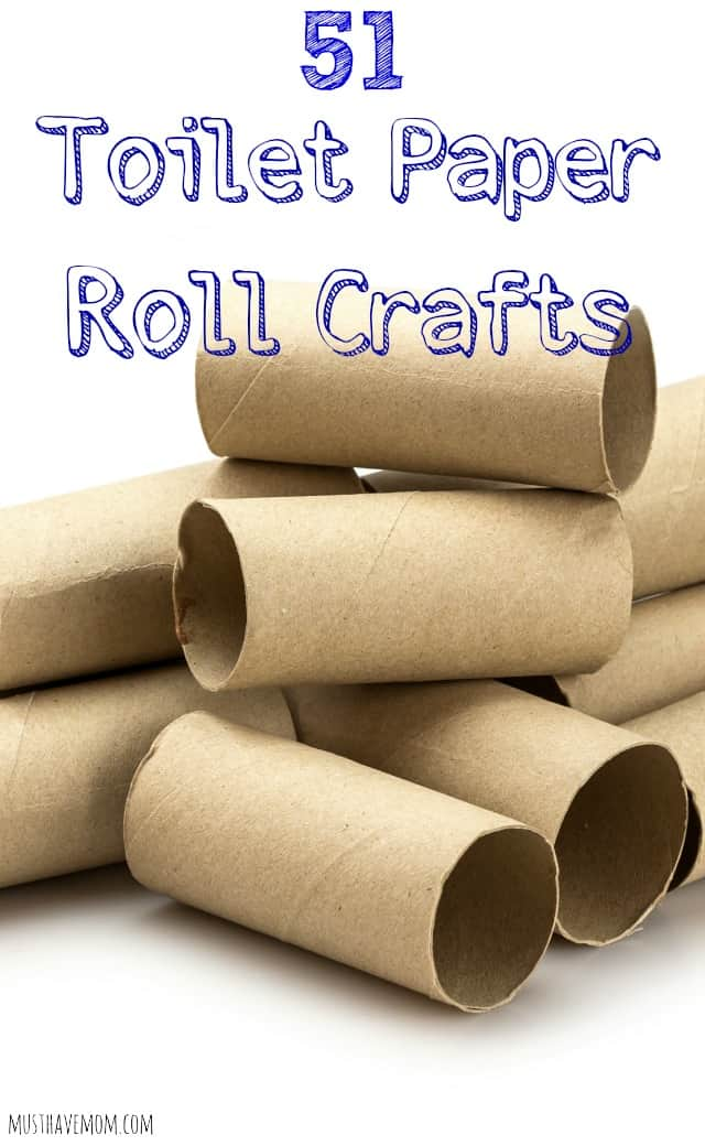 51 toilet paper roll crafts 25 walmart gift card giveaway for Crafts made out of paper towel rolls