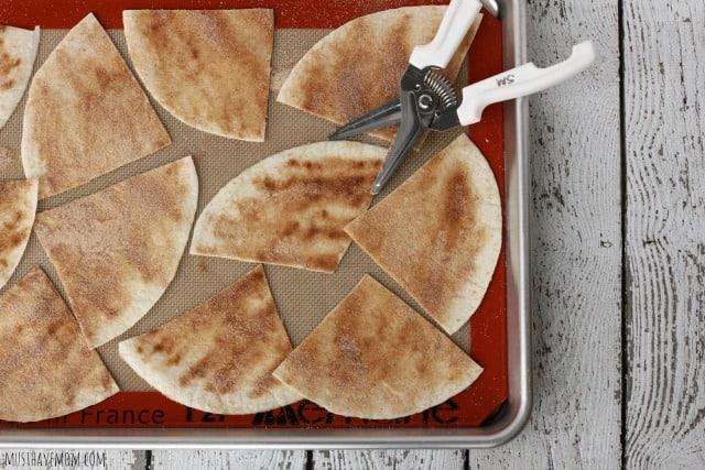 Baked Homemade Cinnamon Chips