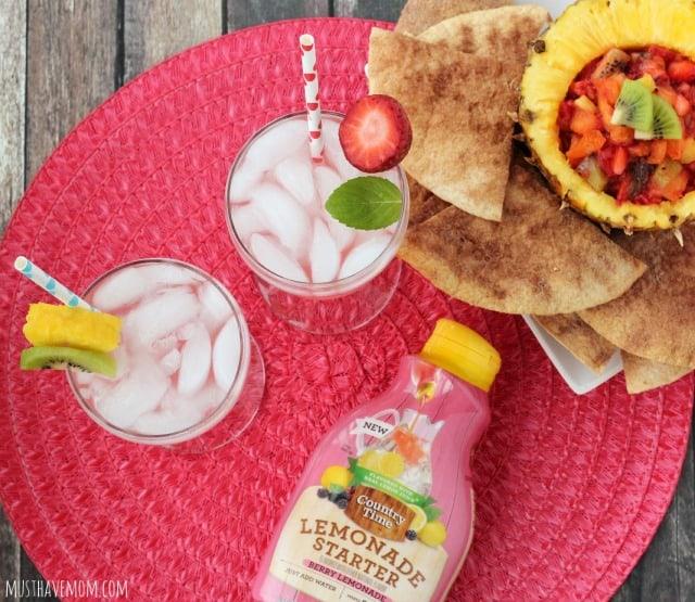Country Time Lemonade Starters #PourMoreFun