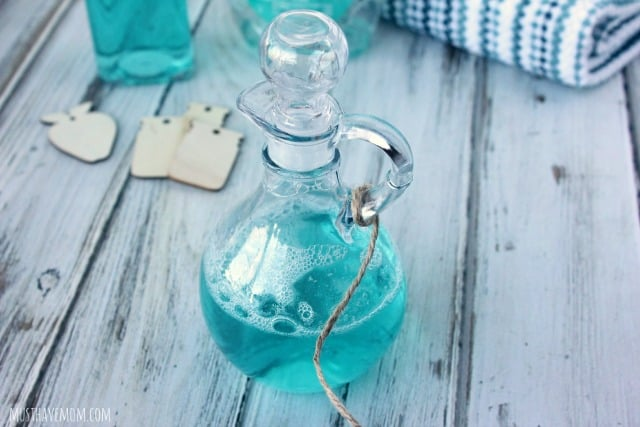 DIY Dish Soap Curet