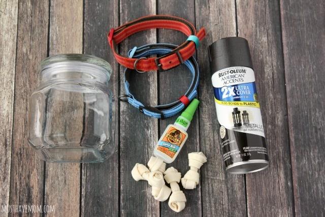 DIY Dog Treat Jar Tutorial