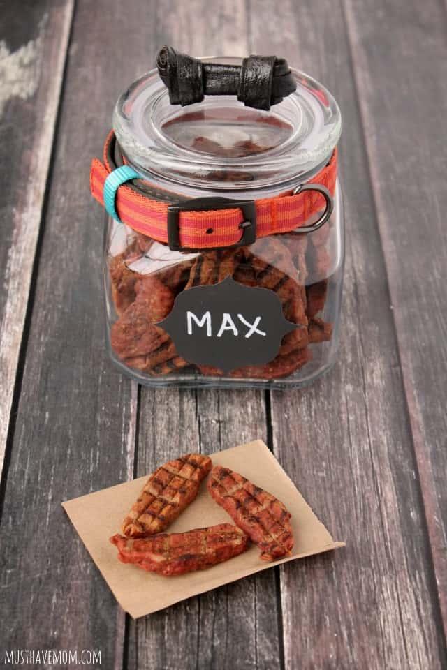Easy DIY Dog Treat Jar