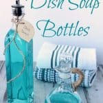 Easy DIY Nautical Dish Soap Bottles