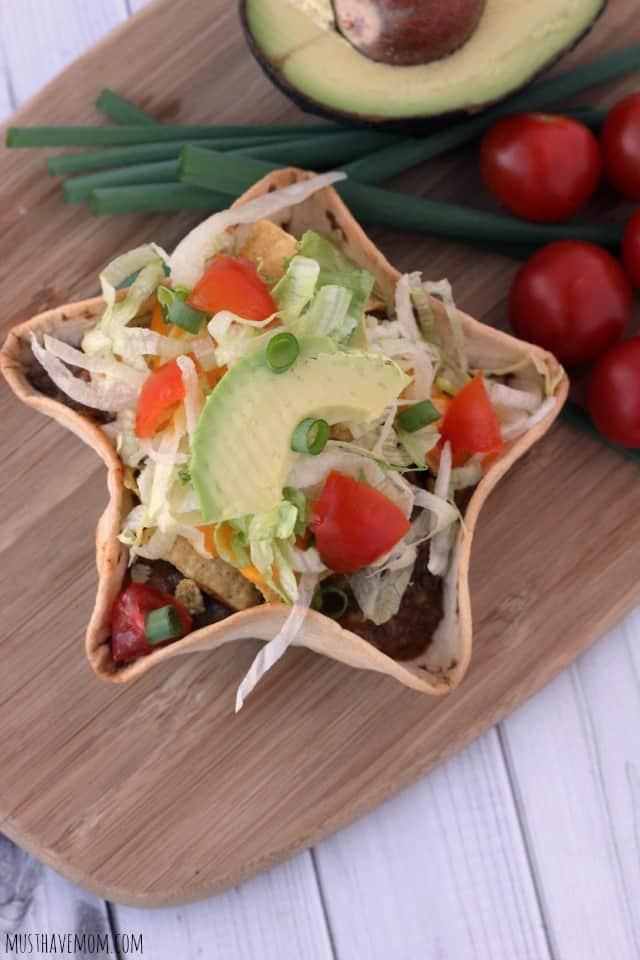Fiesta Taco Bowls Recipe - Musthavemom.com