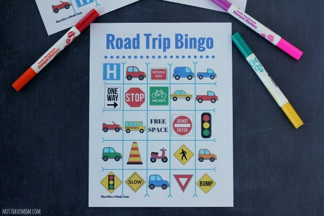 Free Travel Bingo Printable