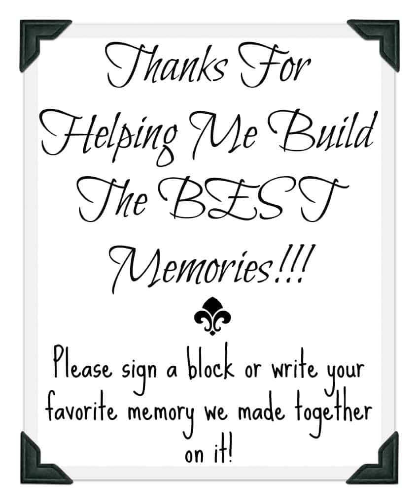 image about Free Graduation Printable called Commencement Get together Visitor Guide Thought With Absolutely free Printable!