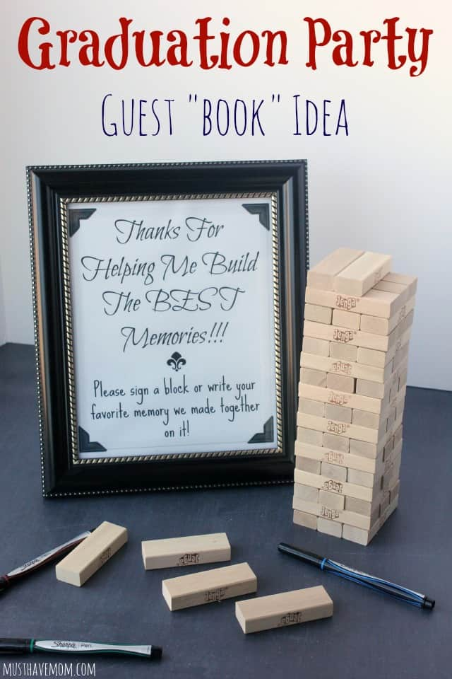 Graduation Party Guest Book Idea
