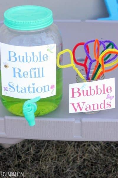 Homemade Bubbles Recipe